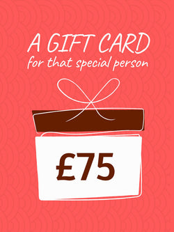 £75 Gift Card (+10% extra value)