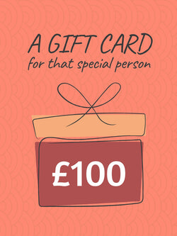 £100 Gift Card (+10% extra value)