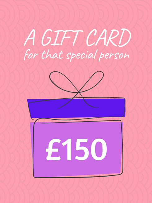 £150 Gift Card (+10% extra value)