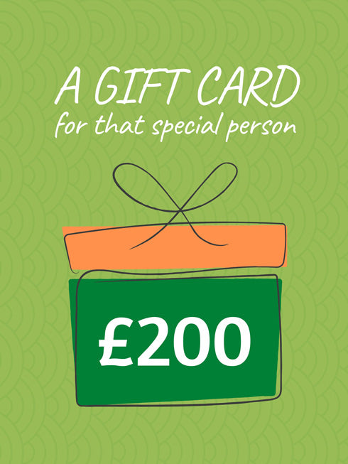£200 Gift Card (+10% extra value)