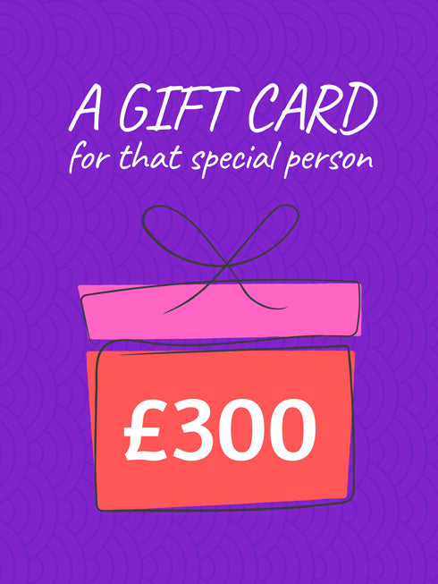 £300 Gift Card (+15% extra value)