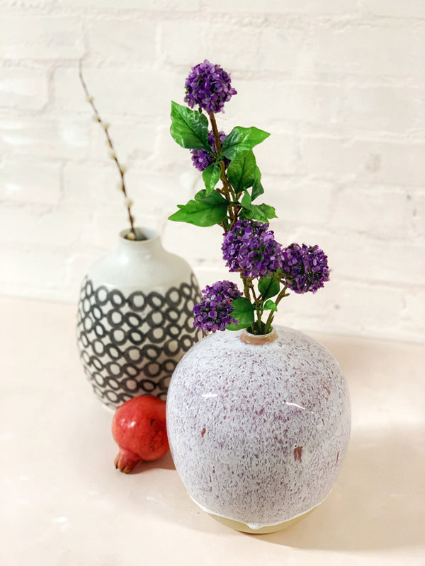 Branca Large Vase (Purple)