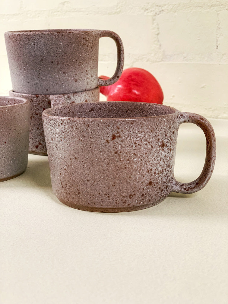 Red Cement Large Mug