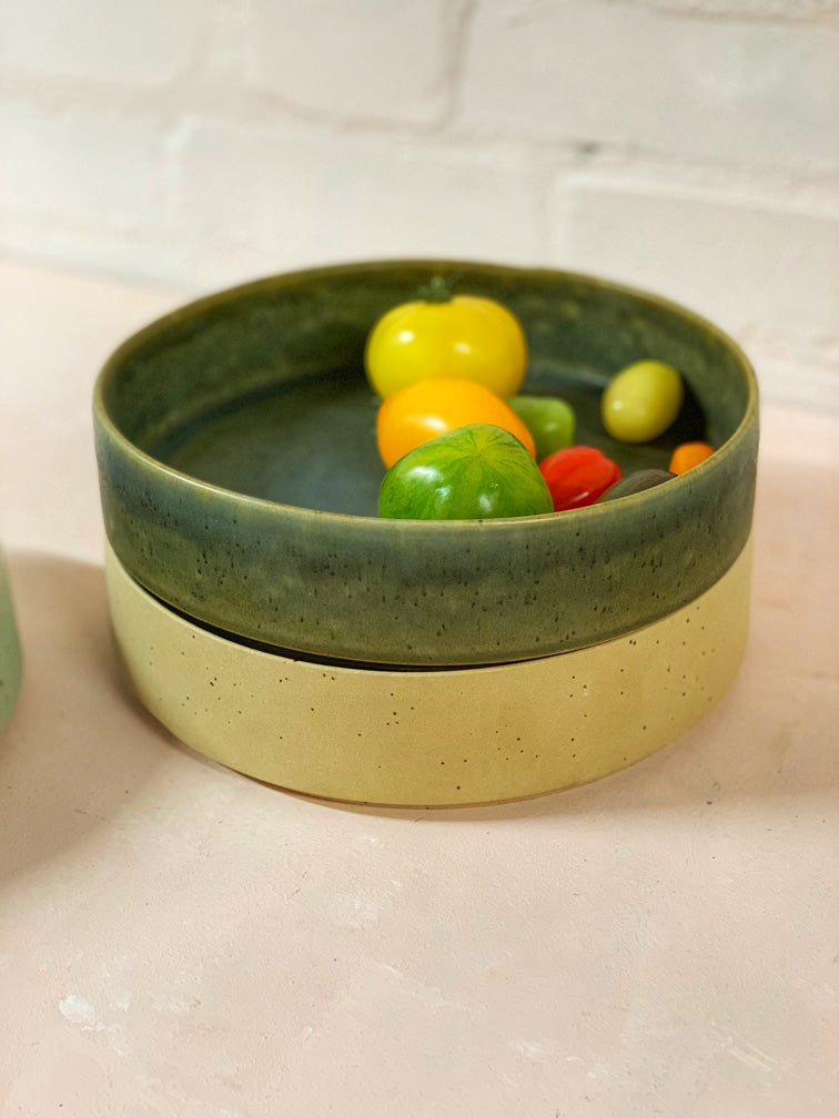 Roberta Medium Serving Bowl (Green)