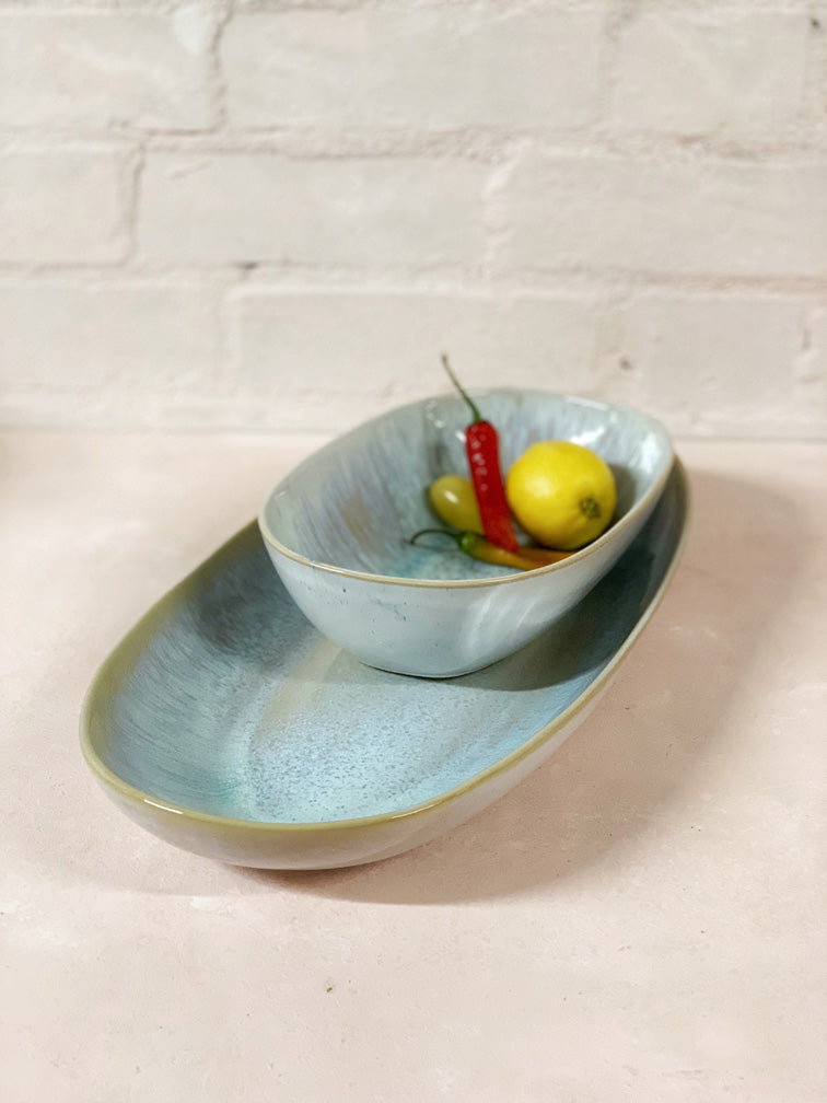 Madalena Deep Medium Serving Platter
