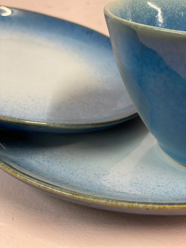 Aelia Dark Blue Dinner Set (4, 6 or 8 people)