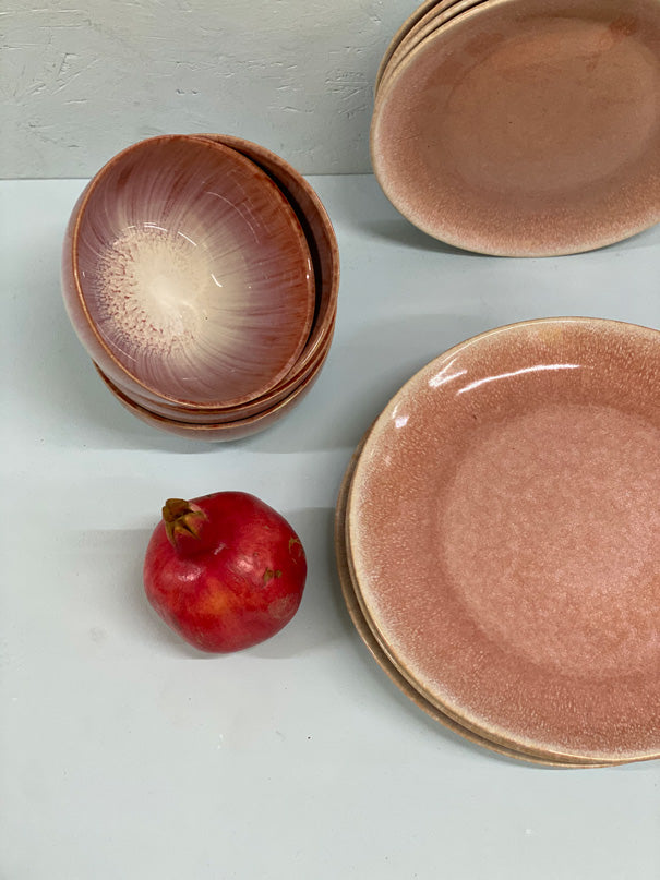 Aelia Light Pink Dinner Set (4, 6 or 8 people)