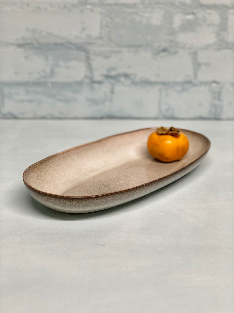 Aline Medium Serving Platter (2 tones)