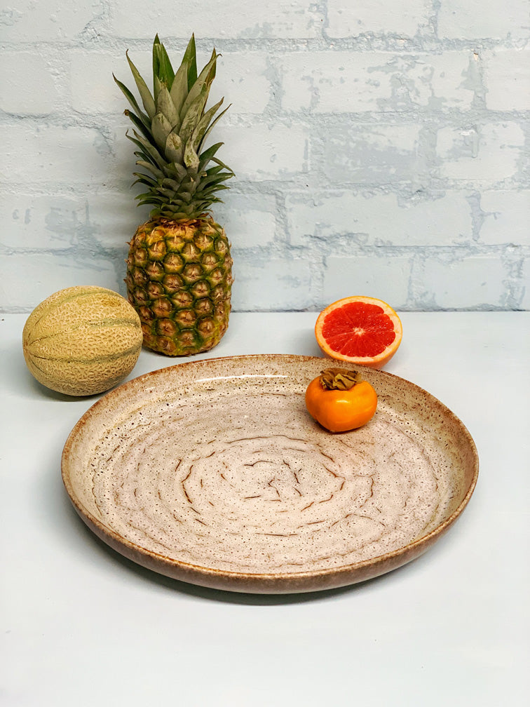 Aline Large Round Serving Platter