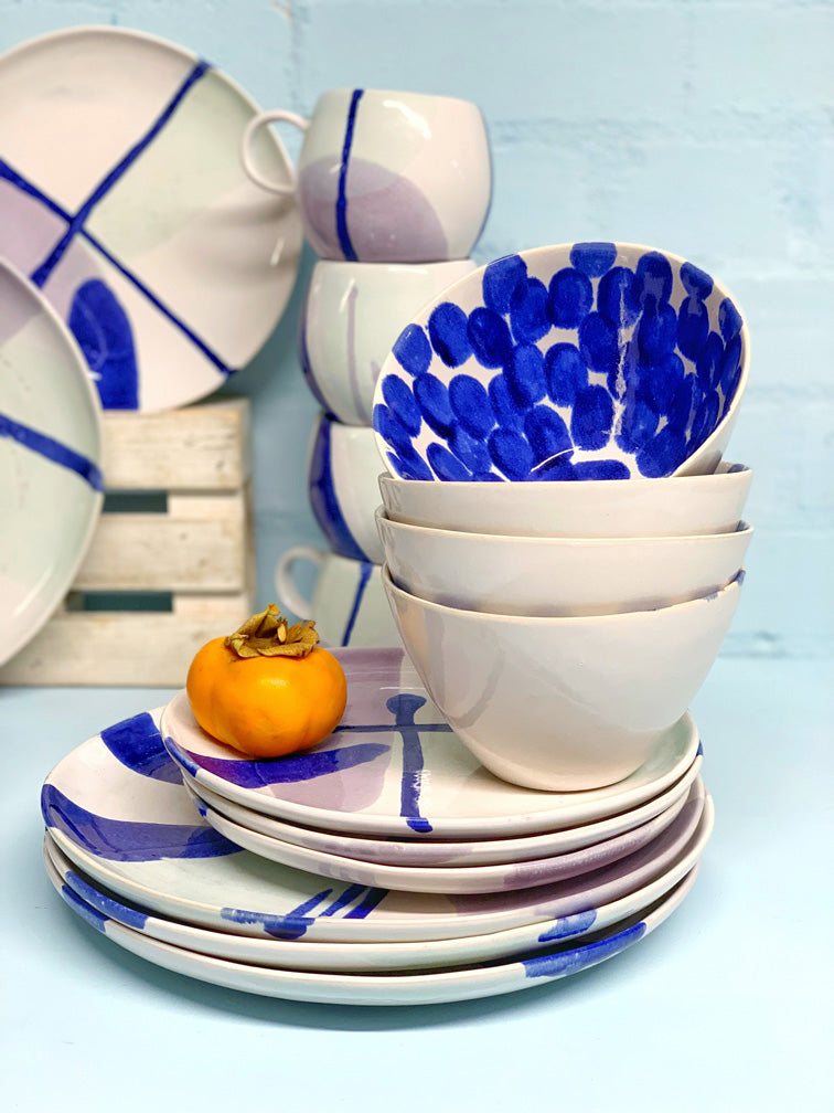 Andréa Dinner Set (4 People - 12, 16 & 20 piece settings)
