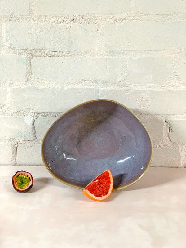 Catarina Large Serving Bowl (Violet)