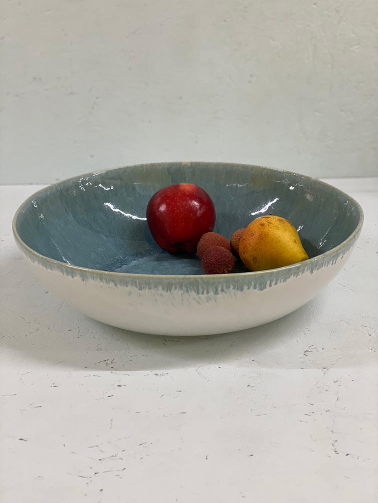 Aelia XXL Serving Bowl (Teal)