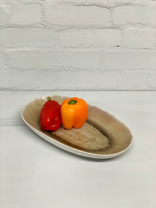 Catarina Large Serving Platter (Beige Glaze)