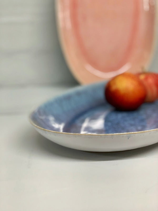 Catarina Large Serving Platter (Blue Glaze)