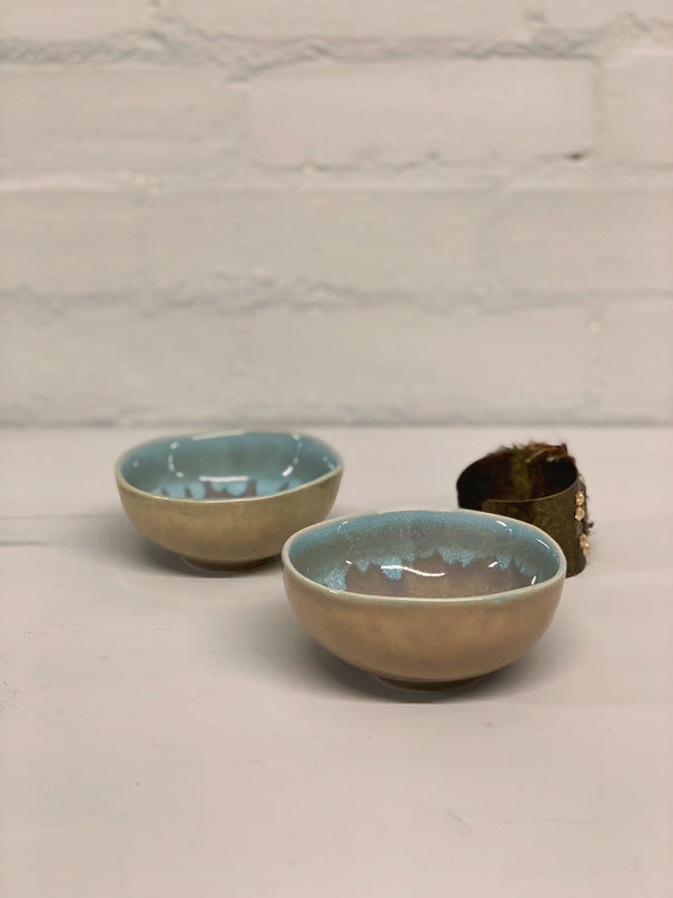 Maria Ring Bowl (Light Blue & Grey)