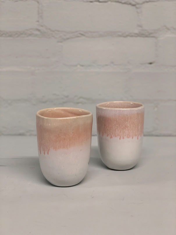 Catarina Large Cup (Pink & White)