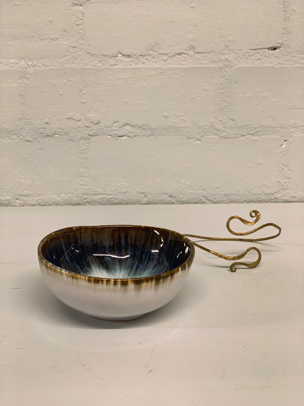 Maria Ring Bowl (Black & Blue)