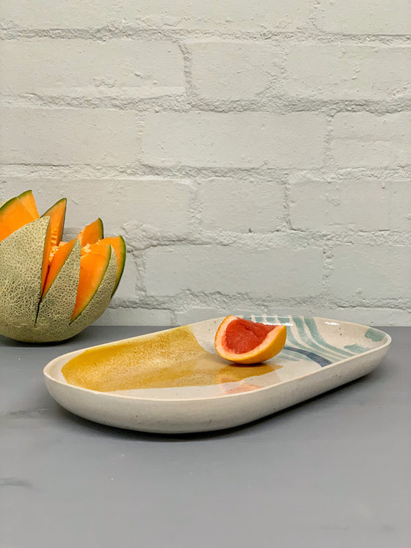 Andréa Medium Flat Serving Platter
