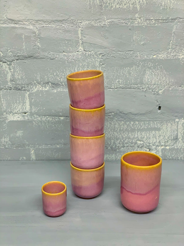Catarina Large Cup (Pink, Violet, Yellow)