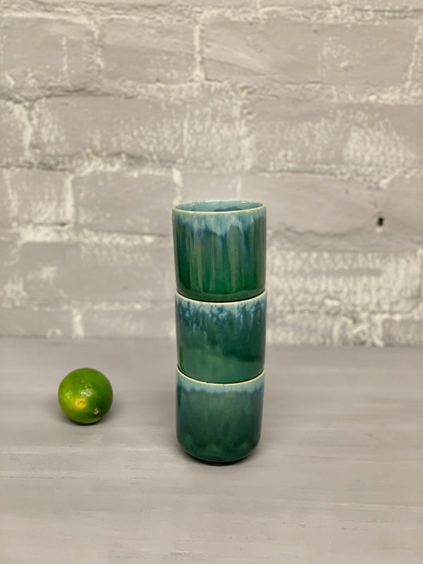 Catarina Medium Cup (Green Blue)
