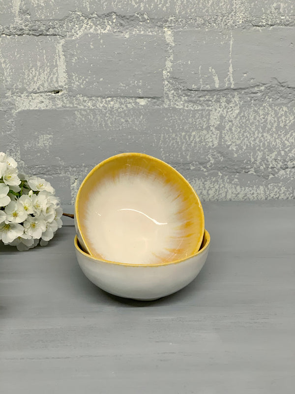 Maria Ring Bowl (Yellow)