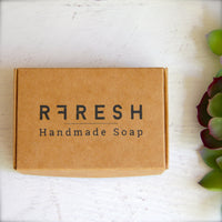 Unscented Oatmeal + Rose Clay Soap