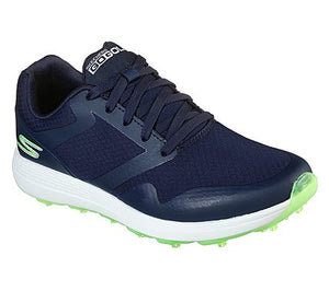 Skechers Go Golf Max-Fade Women's Golf Shoes (Navy/Green) Size 8.5