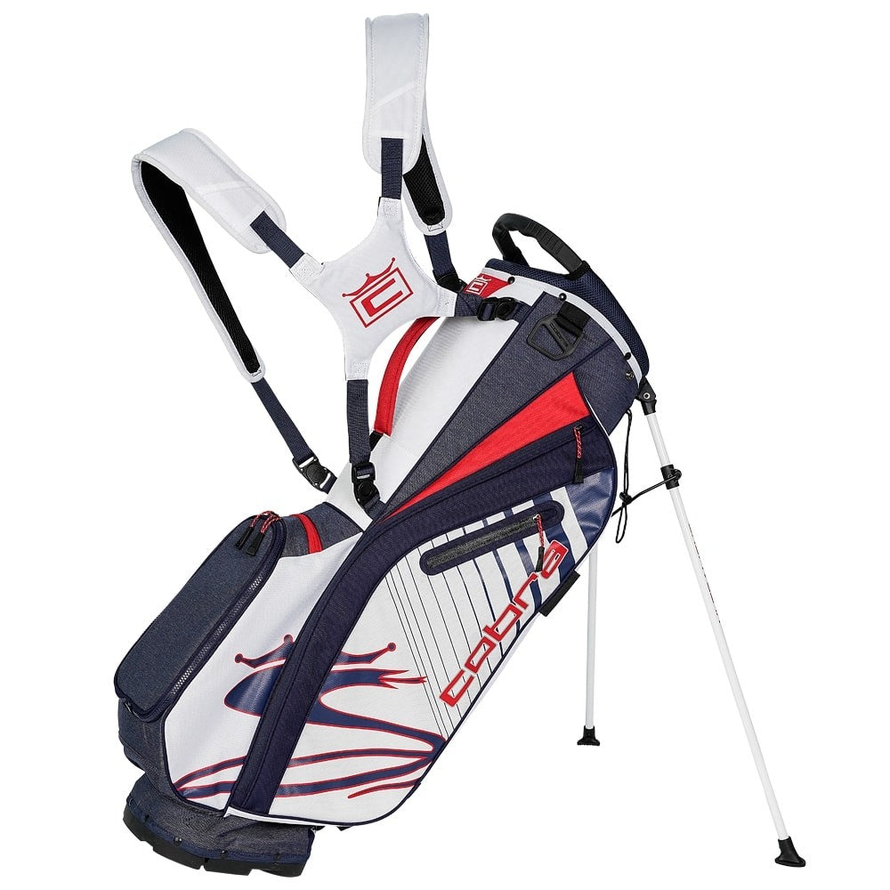 Cobra Ultralight Stand Bag (Peacoat/High Risk Red/White)