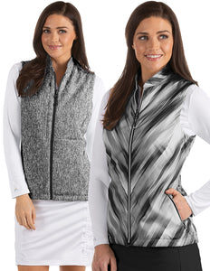Antigua Imagine Women's Reversible Full Zip Vest