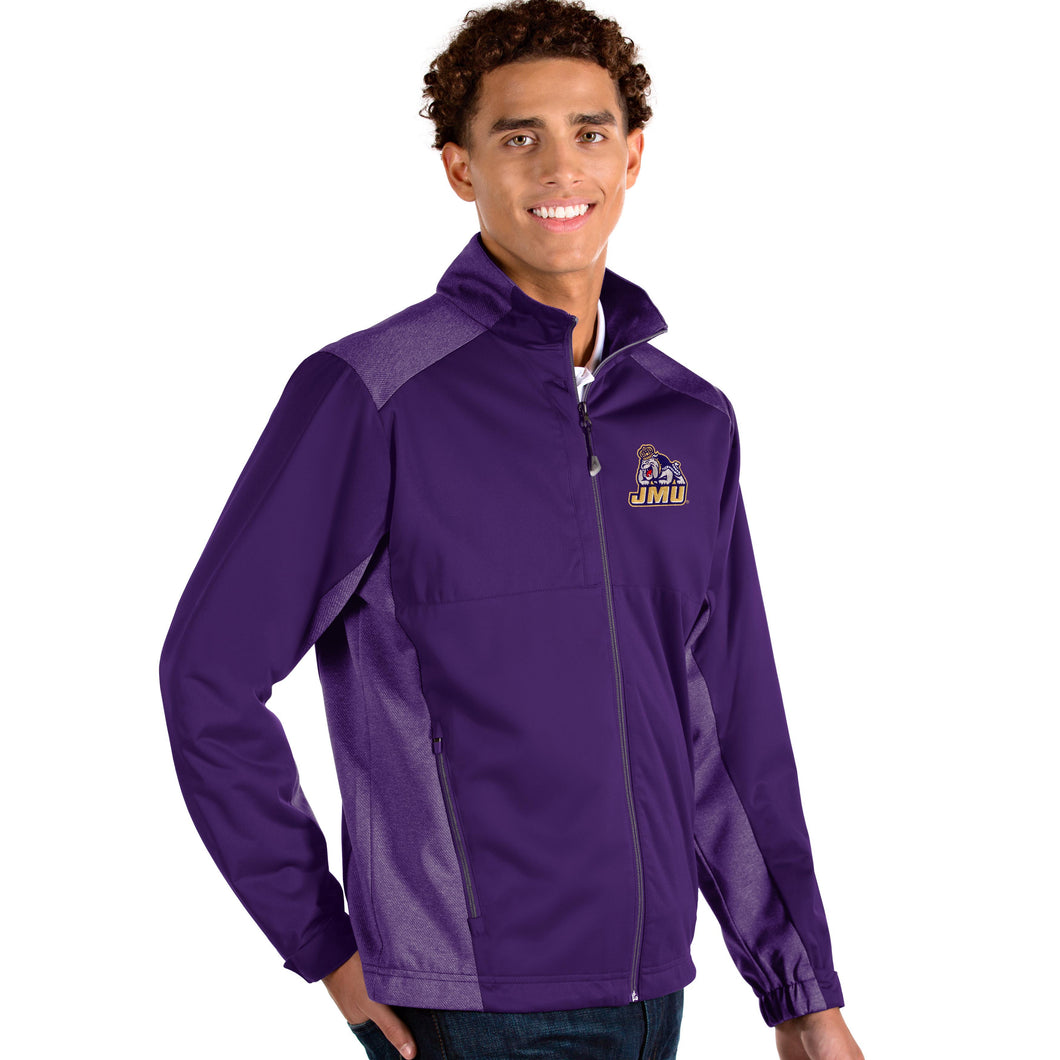 Antigua James Madison University (JMU) Men's Revolve Full Zip Jacket