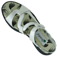 Load image into Gallery viewer, Greenleaf Ladies Golf Sandal With Soft Spikes