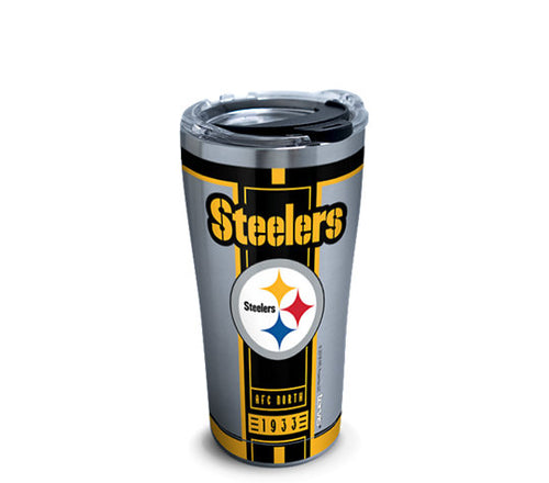 Pittsburgh Steelers 20 oz Stainless Steel Tervis Tumbler Hot/Cold