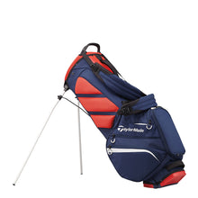 Load image into Gallery viewer, TaylorMade Flex Tech Crossover Stand Bag (Navy/Red/White)
