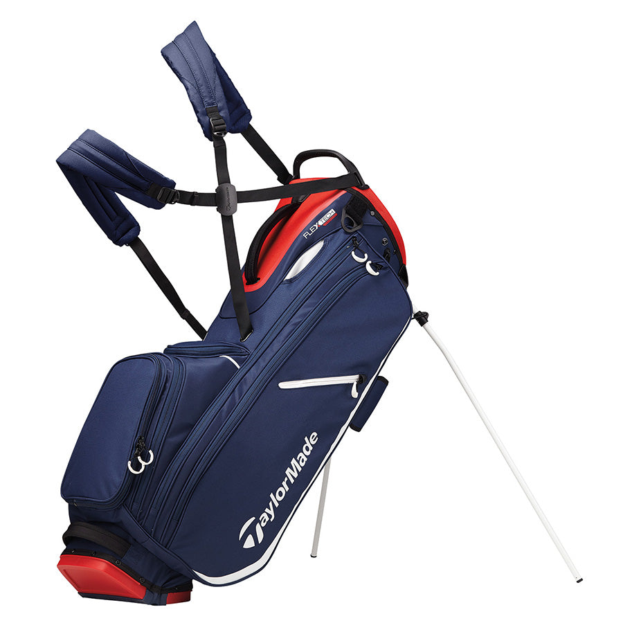 TaylorMade Flex Tech Crossover Stand Bag (Navy/Red/White)