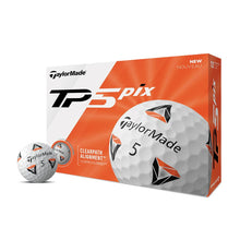 Load image into Gallery viewer, TaylorMade TP5 Pix Golf Balls Dozen