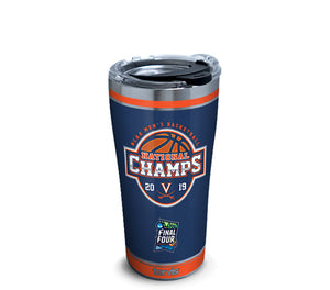 University Of Virginia 2019 Champions 20 oz Stainless Steel Tervis Tumbler Hot/Cold