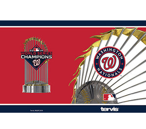 Washington Nationals 2019 Champions 20 oz Stainless Steel Tervis Tumbler Hot/Cold