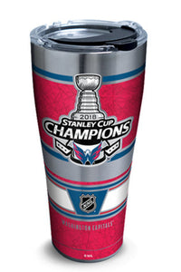 Washington Capitals Stanley Cup 30 oz Stainless Steel Tervis Tumbler Hot/Cold