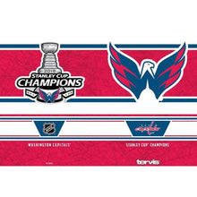 Load image into Gallery viewer, Washington Capitals Stanley Cup Champions 16 oz Tervis Tumbler with Travel Lid
