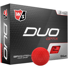 Wilson DUO Optix Golf Balls