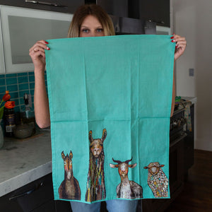 Farm Crew Tea Towel