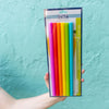 Reusable Rainbow Straws
