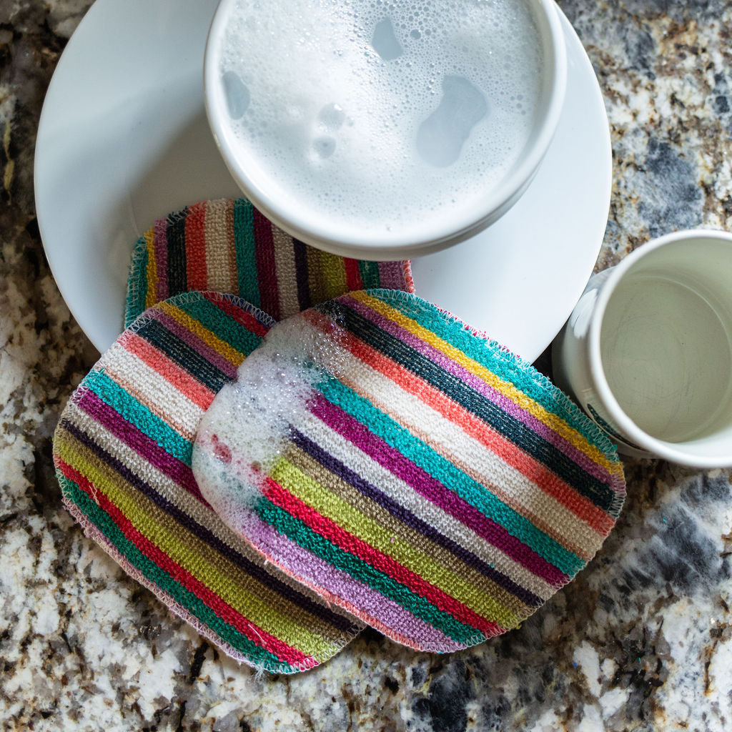 Rainbow Eco Scrubby