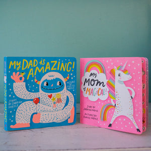Dad's Amazing, Mom's Magical Board Books