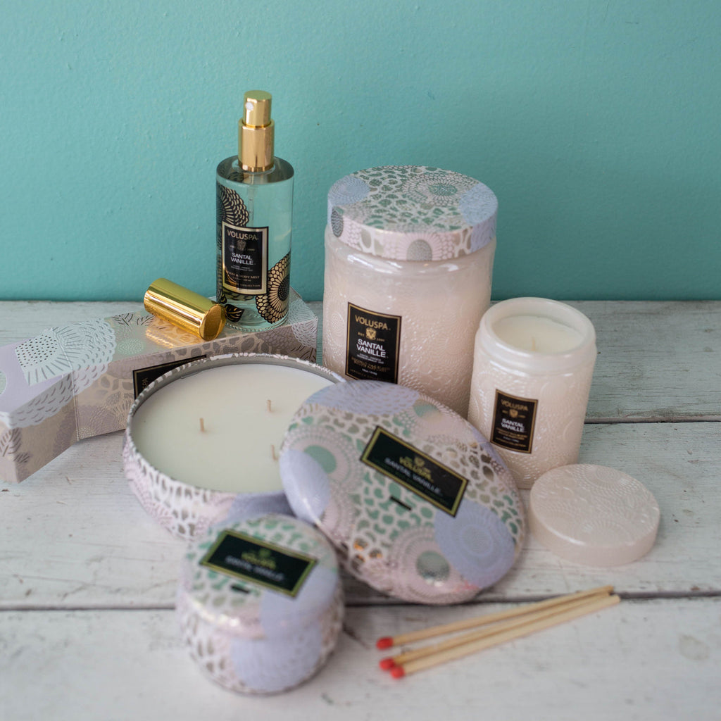 Santal Vanille Home Fragrance Collection