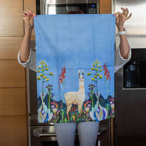 Tall Girl Tea Towel