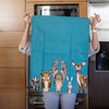 Forest Friends Dish Towel
