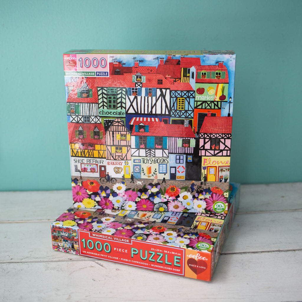 Whimsical Village Puzzle - PRE-ORDER FOR APRIL 10TH SHIP