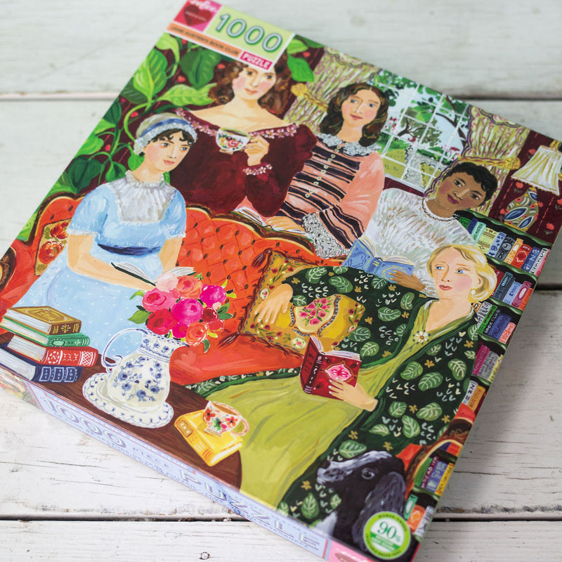 Jane Austen's Book Club Puzzle