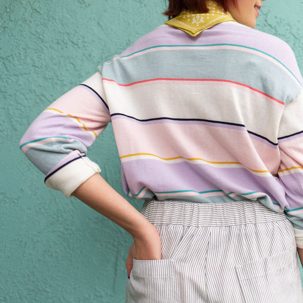 Striped Shore Sweater